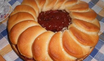 Рецепт приготовления постного тыквенно-сливового пирога