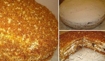 Рецепт приготовления самого вкусного медового торта «Особенный»