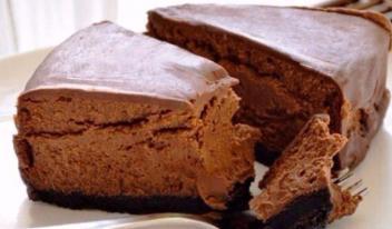 Рецепт приготовления шоколадного чизкейка без выпечки