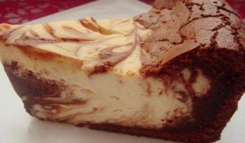 Рецепт приготовления творожно-шоколадной запеканки «Мраморная»