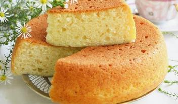 Рецепт пышного домашнего бисквита без яиц