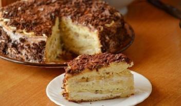Рецепт торта с бананами и творогом. Нереально вкусно!