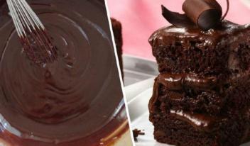 Рецепт вкуснейшего шоколадного пирога на обычном кефире