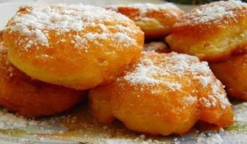 Рецепт восхитительных пончиков на обычном кефире