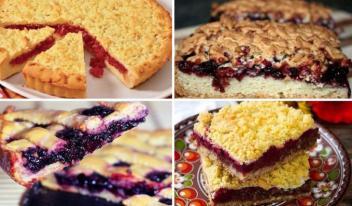 Рецепты домашнего пирога с вареньем: ТОП-6 идей приготовления!
