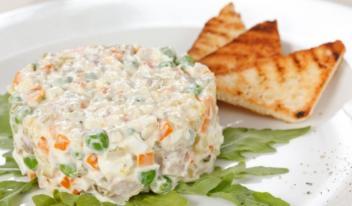Салат «Столичный» – классический рецепт