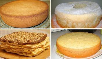 Самые лучшие и вкусные коржи для любимых тортов: ТОП-6 рецептов приготовления!