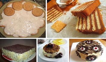 Самые вкусные домашние торты из печенья без выпечки: ТОП-5 лучших рецептов!