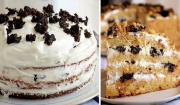Самый вкусный торт «Медовик» на кефире