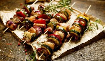 Шашлыки из овощей – открываем сезон!