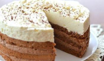 Шоколадный торт «Кофе со сливками» - пошаговый рецепт приготовления