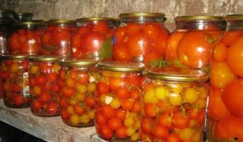 Сладкие и очень вкусные помидоры без уксуса на зиму!