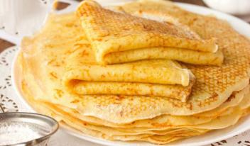 Сырные блины: простой и быстрый рецепт