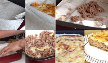 Сытная «ленивая» лазанья: пошаговый рецепт с фото