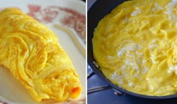 ТОП-10 секретов идеального омлета на завтрак