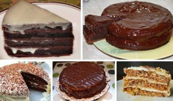 ТОП-5 самых вкусных и популярных тортов. Обязательно нужно это сохранить, пригодится!