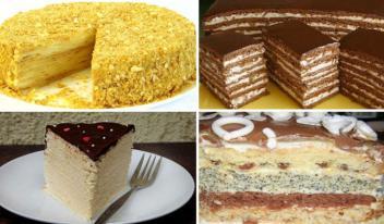 Вкусно, как у мамы: ТОП-6 рецептов домашних тортов из детства!