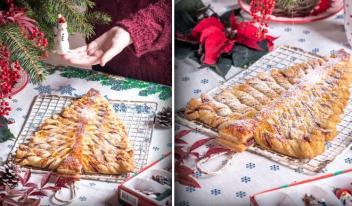 Вкусный и простой пирог к Новогоднему столу!