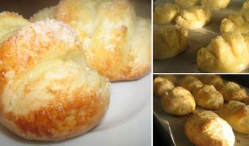 Восхитительные ванильные булочки на молоке