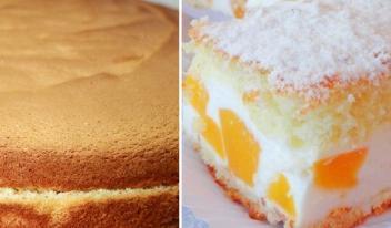 Восхитительный и ароматный творожно-фруктовый пирог с персиками и воздушным кремом!