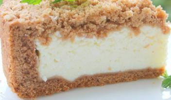 Восхитительный творожный пирог с хрустящей корочкой