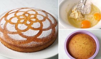Воздушный и румяный пирог на кефире и манке: пошаговый рецепт