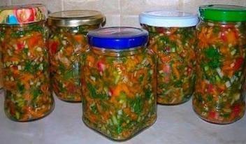 Заправка для супа на зиму: простой рецепт