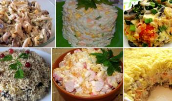 ТОП-7 удачных салатов на Новый Год. Проверено годами!