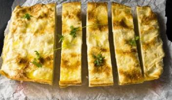 Ачма из лаваша с сыром – самый ленивый способ приготовления грузинской выпечки!