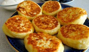 Сырники без манки пошаговый рецепт