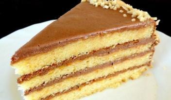 Бисквитный торт «Маша»