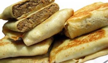 Блинчики с печенью: пошаговый рецепт