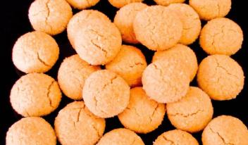 Быстрое песочное печенье в духовке