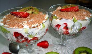 Быстрый и простой холодный десерт без выпечки