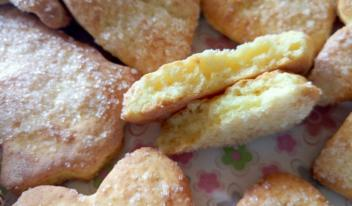 Детское творожное печенье: пошаговый рецепт