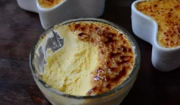 Домашнее мороженое на коньяке «крем-брюле»