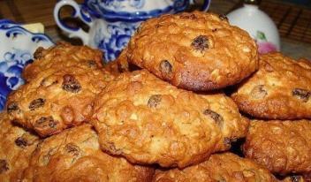 Домашнее овсяное печенье рецепт с фото