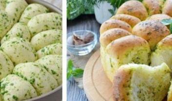 Домашний хлеб с чесноком: пошаговый рецепт