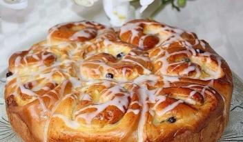 Пирог «Утренняя роса»: пошаговый рецепт