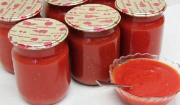 Густой домашний кетчуп