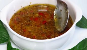 Итальянская заправка для салатов: пошаговый рецепт