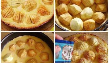 Изумительный яблочный пирог «Обалденный»
