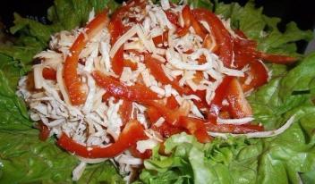 Как приготовить оригинальный салат «КОКО ШАНЕЛЬ»