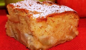 Яблочный пирог по-немецки «Апфелькухен»