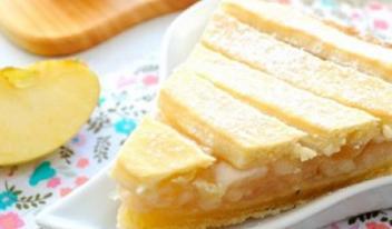 Яблочный пирог «Польская шарлотка»