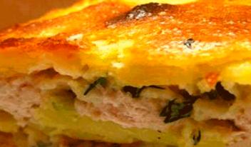Как приготовить картофельно-мясной пирог