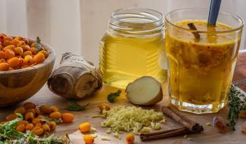Как приготовить напиток для похудения с имбирем