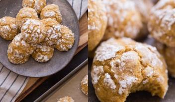 Как приготовить необычное овсяное печенье с тыквой в домашних условиях