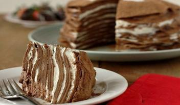 Как приготовить шоколадный блинный торт с самым нежным кремом
