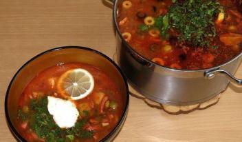 Как приготовить солянку: правильная солянка пошаговый рецепт